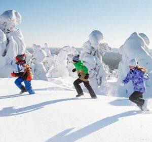 Vinterskor för barn